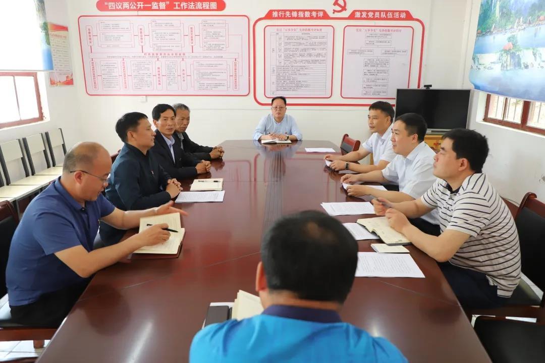 省领导到王屋镇调研基层党建、脱贫攻坚及村集体经济发展等工作
